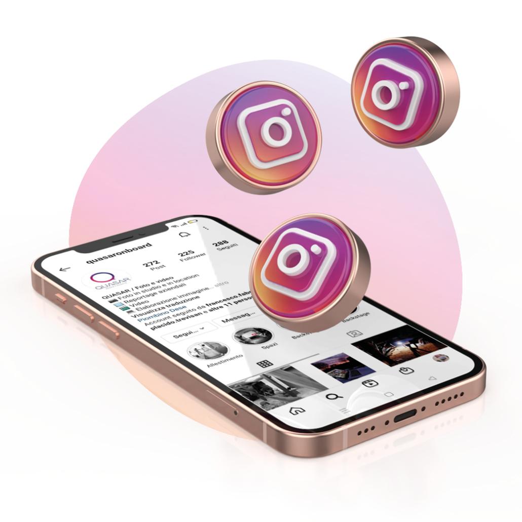 visual brand identity su instagram